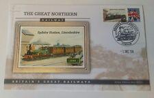 2009 Britain's Great Railways Benham silk - SPILSBY STATION, LINCOLNSHIRE (a)