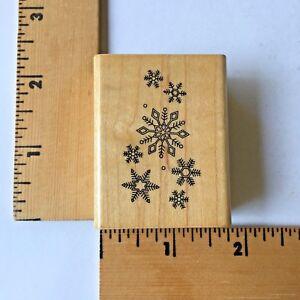 Hero Arts Rubber Stamp - Snowflakes
