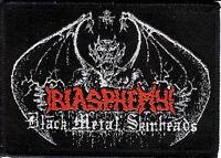 Blasphemy BMS Demon patch Archgoat Death Black Metal Deicide Sarcofago Vulcano