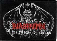 Blasphemy BMS Demon patch Archgoat Death Black Metal Deicide Sarcofago Vulcano