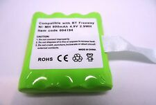 BT FREEWAY TWO WAY RADIO RECHARGEABLE COMPATIBLE BATTERY PACK TWO WAY RADIO PMR