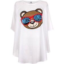 Moschino Jeremy Scott Camicia Blusa Teddy Bear Donna Taglia M