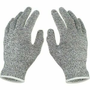 CUT RESISTANT LEVEL 5 WORK KNIFE SAFETY GLOVES GRIP PROTECTION NON SLIP UK