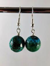 Hypoallergenic Nickel Free Natural agate earrings