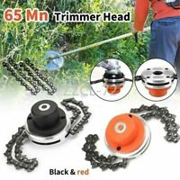 Universal 65Mn Garden Grass Chain Trimmer Head Brush Cutter Tool  For Lawn Mower