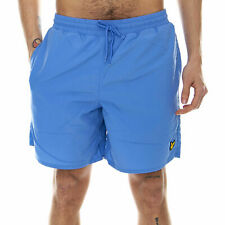 Lyle & Scott Plain Swimshort - Cornflower Blue - Men's Blue Size Large