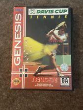 Davis Cup Tennis Sega Genesis NTSC