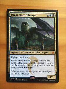 Mtg Dragons of Tarkir Dragonlord Silumgar NM