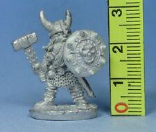Miniatures Workshop - Duergar with Hammer & Shield - Fantasy Dwarf - Pre Slotta