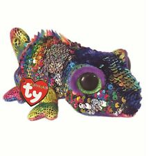 TY Beanie Babies 36797 Flippables Medium Karma The Chameleon