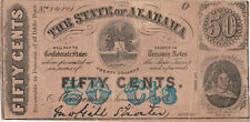 State of Alabama Fifty Cents