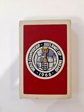 More details for rare sealed de la rue 1966 world cup edition playing cards