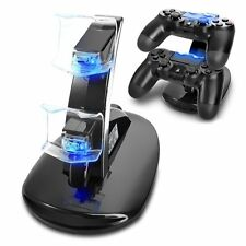 Dual USB Charger Docking Station Stand for Playstation 4 Slim & Pro Controller