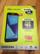 NEW! SAMSUNG Galaxy J7 SKY PRO 4G LTE 16GB STRAIGHT TALK Prepaid Smartphone