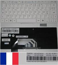 Azerty French Keyboard LENOVO S9 S10 V100620BK1 42T4214 42T4249 8C8911 White