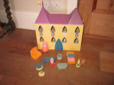 TV PEPPA PIG DELUXE OPENOUT SERIES PALACE CASTLE ROYAL FAMILY PLAYFIGURES FURNI