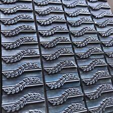 FLORAL Bleisatz Schmuckrahmen Zierelemente Buchdruck Handsatz Letterpress