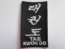 TAE kwon ricamato calore sigillato Patch-P062
