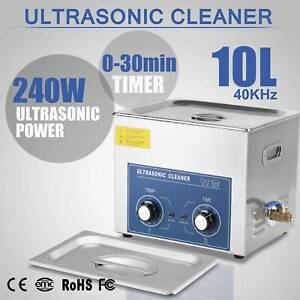 10L Ultraschall Reiniger Ultraschallgerät Ultrasonic Cleaner mit Korb SU 05