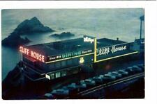 "DINER NIGHT SCENE ""CLIFF HOUSE"" SINCE 1856 DINING SAN FRANCISCO CALIFORNIA U.S."
