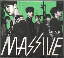 B.A.P Massive - Japan 3rd Album (2018) CD & DVD & 7 PROMO CARDS  BAP SEALED