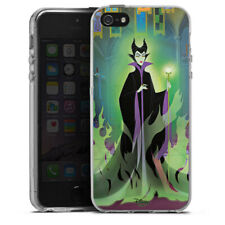 Apple iPhone 5 Silikon Hülle Case - Maleficent