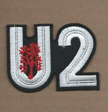 New 2 3/8 X 3 1/8 Inch U2 Iron On Patch Free Shipping