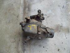 Oliver 77 Tractor Gas Engine Motor Carburetor Assembly