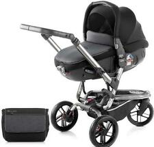 Brand new Jane trider matrix travel system in black with bag & raincover