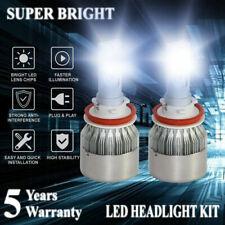 CREE H11 H8 H9 LED Headlight Kit Hi/Lo Beam Bulbs 1200W 80000LM 6000K High Power