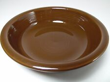 RETIRED 2008 CHOCOLATE FIESTA COUPE SOUP CEREAL BOWL FIESTAWARE HOMER LAUGHLIN