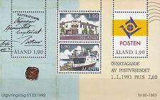 Åland / Aland Nr. Bl. 2** (86-89**) Eigene Posthoheit