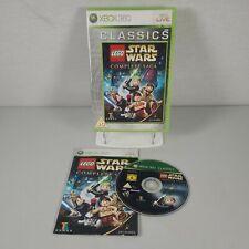 Lego Star Wars die komplette Saga Xbox 360 Action Adventure Video Game Anleitung PAL