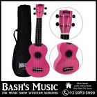 Mahalo MR1 Soprano Ukulele Beginner Starter with Bag Carry Case - PINK