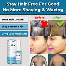 NEW 100% NATURAL PERMANENT HAIR REMOVAL SPRAY INHIBITOR STOP GROWTH PAINLESS