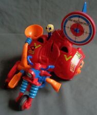 1986 vintage Amtoy MADBALLS Head Popping Mad rollercycle Mad Balls motorcycle