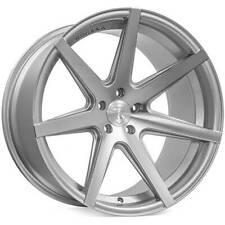 """4ea 20"""" Staggered Rohana Wheels RC7 Machined Silver Rims(S10)"""