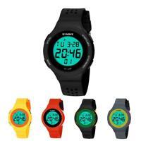 SYNOKE Digital LED Sports Watch Mens Women Unisex Waterproof Fashion Wrist Watch