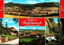 Gruß aus Stadtsteinach im Frankenwald , Ansichtskarte , 1985 gelaufen