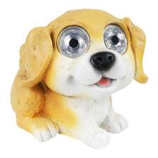 Outdoor Decor Solar Puppy Dog Light 2 LED Statue Landscape Path Lamp Shepherd