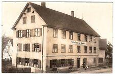 """BIBERACH Ortsteil BIRKENDORF """"Mühlschlegel zum Bräuhaus"""" Bier * Foto-AK um 1920"""