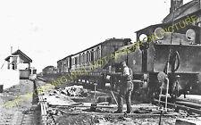 Pilling Railway Station Photo. Garstang & Knott End Railway. (1)