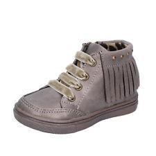 scarpe bambina DIDI BLU 25 EU sneakers beige pelle BT351-25