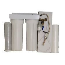 Twin UnderSink Water Filter Kit + Tap - Chlorine Removal