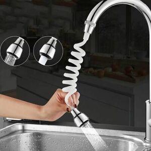 Wasserhahnverlängerung Düse Flexibler Adapter Spüle Spray Bubbler