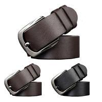 Hottest Fashion Chic Men Business Casual Solid Belt Leather Waist Belt Waistband