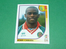N°58 CAMARA SENEGAL PANINI FOOTBALL JAPAN KOREA 2002 COUPE MONDE FIFA WC