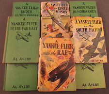 Yankee Flier Boys Books 9 Books Original 1944 Volumes
