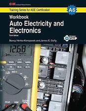 Auto Electricity & Electronics Workbook