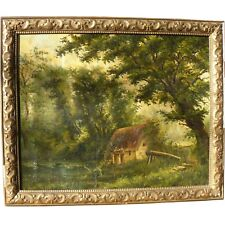 école de Barbizon / paysage / huile sur toile / suiveur de Camille Corot